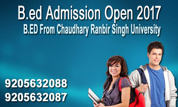 crsu jind b.ed admission 2017