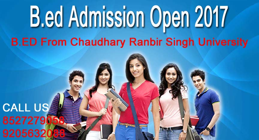 B.ED From Chaudhary Ranbir Singh University
