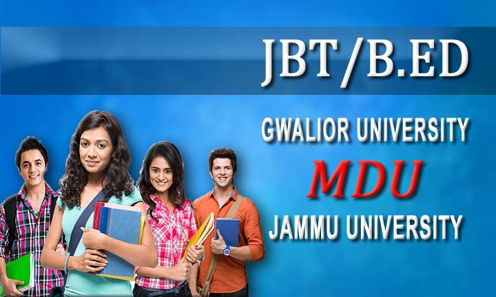 B.ED From Jammu University